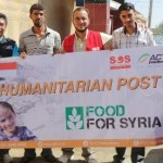 posko kemanusiaan Act di Suriah