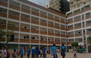 Sebuah sekolah menengah di Mesir (inet)