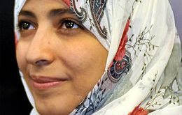 Tawakul Karman, pemenang Nobel Perdamaian (inet)