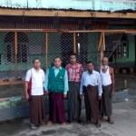 Koordinasi dgn MItra di lokasi Pengungsi (4)