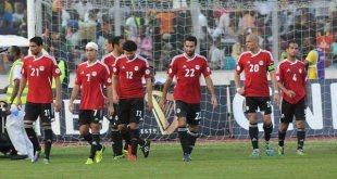 Timnas Mesir saat kalah melawan Ghana (inet)