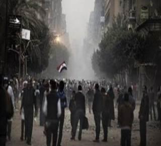 Suasana Bundaran Tahrir kemarin (19/11/2013)