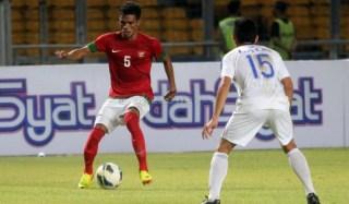 Alfin Tuasalamony, pencetak goal tunggal kemenangan Indonesia atas Myanmar. Senin, 16/12 (Foto: kabarbola.net)