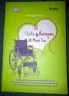 "Cover buku ""Cinta & Harapan di Masa Tua""."