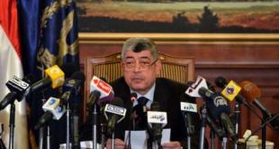 Konferensi pers Muhammad Ibrahim, menteri dalam negeri kudeta, Kamis (2/1/2014) kemarin.