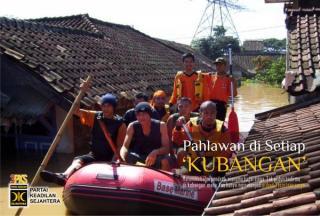 Kader PKS dalam Tanggap Banjir (Foto: jakarta.kompasiana.com)