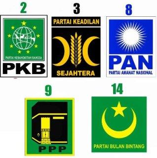 Parpol Islam - Inet (Foto: berita dewan.com)