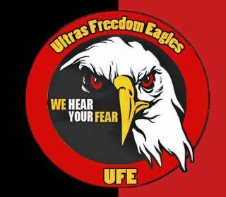 Ultras Freedom Eagles (www.facebook.com/ultrasfreedomeagles14)