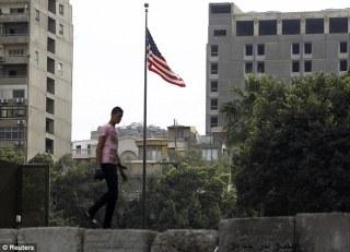 Kedubes AS di Cairo (arsip aljazeera)