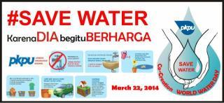 Co Creation Hari Air Dunia (#SaveWater). - Foto: PKPU