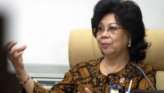 Menteri Kesehatan Nafsiah Mboi meminta vaksin dan obat tidak dimasukkan dalam RUU JPH - Foto: tempo.co
