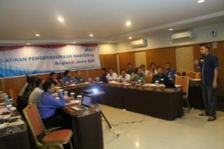Training Pendayagunaan Regional 2 Jawa-Bali PKPU di Hotel Grasia Semarang. Selasa (15/4) - (Foto: kis/PKPU)