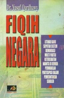"""Cover buku """"Fiqih Negara""""."""
