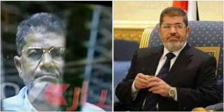 Foto Presiden Mursi yang asli dan foto orang dalam kurungan pengadilan (islammemo.cc)