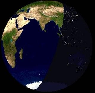 Ilustrasi pergantian siang menuju malam. (wikispaces.com)