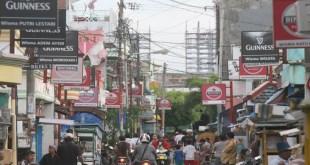 Jalan Dolly yang menjadi pusat Lokalisasi Dolly di Surabaya. (okezone.com)
