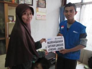 PKPU memberikan bantuan operasional kesehatan untuk Nurhasanah, Penderita Lupus, Sabtu (17/5) - (war/pkpu)