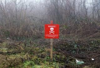 Daerah bahaya ranjau di Bosnia (Anadolu)
