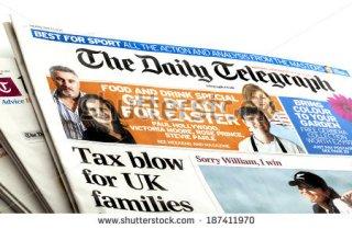 The Daily Telegraph (shutterstock.com)