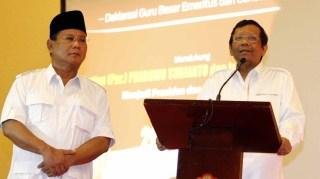 Ketua Tim Kampanye Nasional (Timkamnas) Prabowo-Hatta, Mahfud MD.  (suara.com)