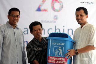 Lintas Arta dan Rumah Zakat Meluncurkan Kampung Berseri di Kelurahan Cipete Utara RW 06 Kec Kebayoran Baru, Jakarta Selatan. (sri/RZ)