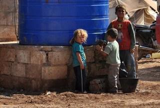 Pengungsi Suriah kesulitan mendapatkan air bersih (Anadolu)