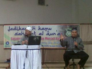 Dua orang ustadz penghafal Al-Qur'an, Chairil Anwar, M.A., dan Hermansyah, M.A. (arsip - dakwatuna)