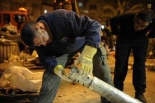 Roket yang ditembakkan Hamas ke wilayah Israel (paltimes.net)