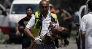 Anak-anak Palestina tidak berdosa yang tidak luput dari kebrutalan militer Israel (paltimes.net)