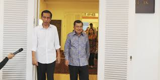 Pasangan Presiden dan Wakil Presiden terpilih, Jokowi-JK.  (merdeka.com)