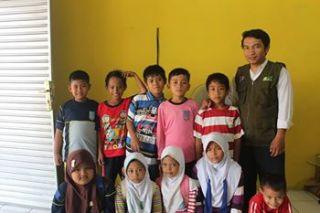 Yayasan Kilau Indonesia menggelar program Cerahkan Senyum Anak Bangsa. (Faiz/YKI)