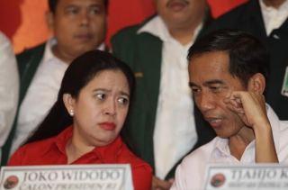Ketua DPP PDIP Puan Maharani dan Jokowi.  (detik.com)