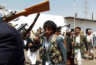 Syiah Hutsi yang saat ini menguasai ibukota Yaman (aden-post.com)