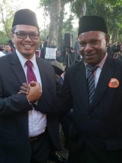 Anggota DPR RI terpilih periode 2014-2019, Yudi Widiana dan Muhammad Yudi Katouky. (pks.or.id)