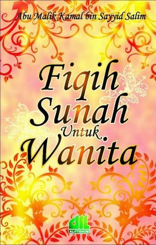 """Cover buku """"Fiqih Sunah untuk Wanita""""."""