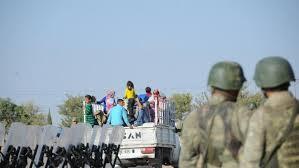 MIliter Turki mengosongkan wilayah perbatasan (noonpost)