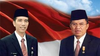Presiden dan Wakil Presiden Ri Ke-7, Joko Widodo dan Jusuf Kalla.  (kanalsatu.com)