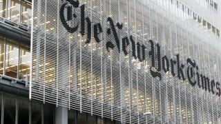 Gedung New York Times di AS (sahanjournal.com)