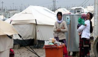 Pengungsi Irak di musim dingin semakin menderita. (aljazeera)