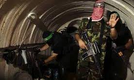 Batalion Izzuddin Al-Qassam, sayap militer gerakan Hamas. (safa.ps)