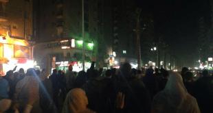 Pendukung Mursi berdemonstrasi di kawasan Tahrir. (Islammemo.cc)