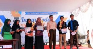 """SMK Islam Terpadu Insan Toda atau yang lebih akrab dikenal dengan """"Bogor Entrepreneur School"""" menyelenggarakan kegiatan Insan Toda Entrepreneurship Expo (ITE2) 2015 se-Bogor, Sabtu-Ahad (21-22/2/2015). (Ramadhan Aziz)"""