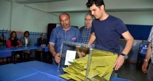 Pemungutan suara dalam pemilu legislatif Turki telah usai. (Anadolu)