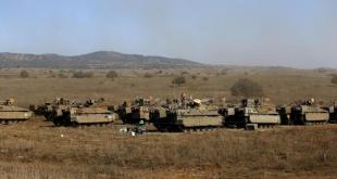 Tank Israel telah bersiap di wilayah Suriah. (aljazeera)