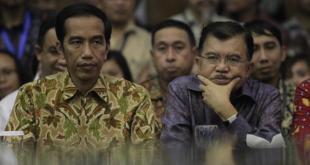 Presiden Joko Widodo dan Wakil Presiden Jusuf Kalla (kompas.com)