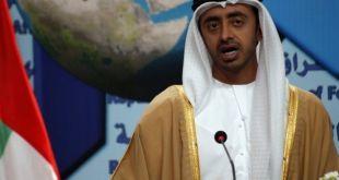 Menlu Emirat Arab, Sheikh Abdullah bin Zayed al Nahyan. (koraday.com)