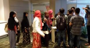 300 penonton memadati Park 23 XXI Bali dalam acara Nobar Film Tausiyah Cinta. (dhani)