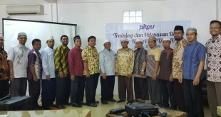 Para dai PKPU yang akan dikirim ke 14 benua dalam program Safari Dakwah Ramadhan 1437 H PKPU.(Putri/PKPU)