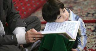 ilustrasi, membiasakan anak menghafal Alquran (inet)