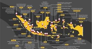 Lokasi Pengamatan Hilal Ramadhan 1437H/2016M. (twitter.com/SidangIsbat)